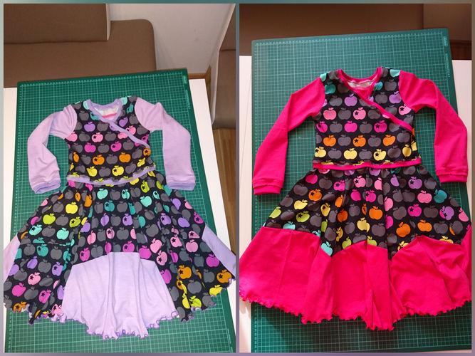 Makerist - Drehkleid Zwillinge  - Nähprojekte - 1