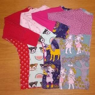Makerist - Fledermausshirt MADITA für Mädchen - 1