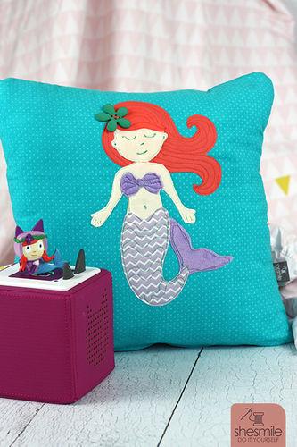 Makerist - Eine Meerjungfrau zur bestandenen Seepferdchen-Prüfung! - Nähprojekte - 1
