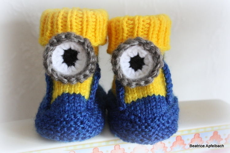 Makerist - Babybooties  - Strickprojekte - 1