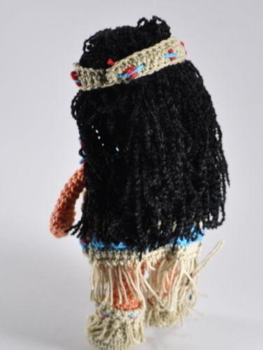 Makerist - Indianermädchen mit Baby Häkelanleitung - Häkelprojekte - 3