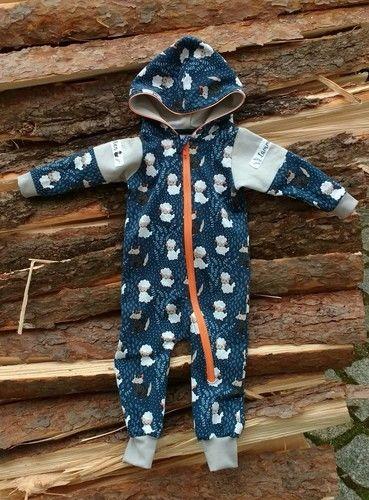 Makerist - Baby Overall Krabbelkäfa aus Sweat - Nähprojekte - 1