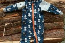 Makerist - Baby Overall Krabbelkäfa aus Sweat - 1