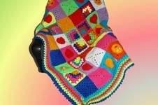 Makerist - Bunte Baby Decke - 1