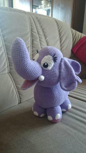 Makerist - Elefant für meinen Enkel - Häkelprojekte - 1