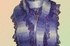 Makerist - Schal mit Rüscheln - 1