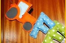 Makerist - Namenskette für die Kinderzimmertüre - 1