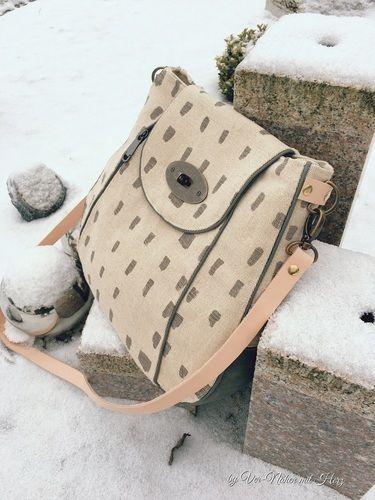 Makerist - Tasche Liv - Nähprojekte - 2
