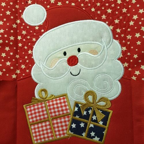 Makerist - Weihnachtsdecke/Wandbehang - Patchwork-Projekte - 2