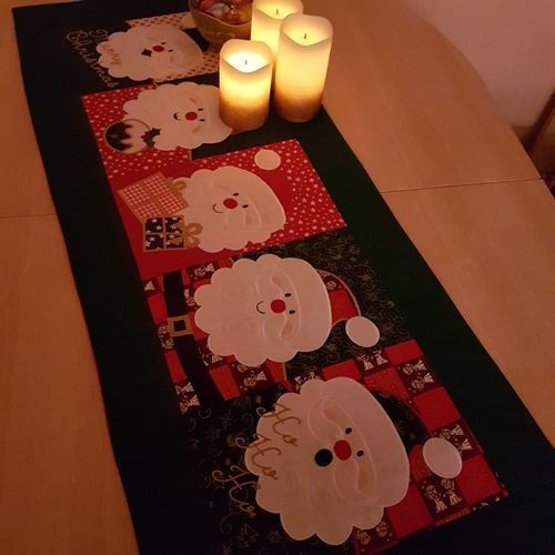Makerist - Weihnachtsdecke/Wandbehang - Patchwork-Projekte - 3
