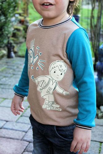 Makerist - Skaterboy - Textilgestaltung - 2