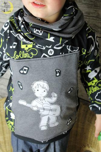 Makerist - Rockerboy - Textilgestaltung - 2