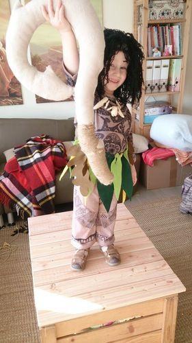 Makerist - Vom Schlafanzug zum Maui-Faschingskostüm - Nähprojekte - 1