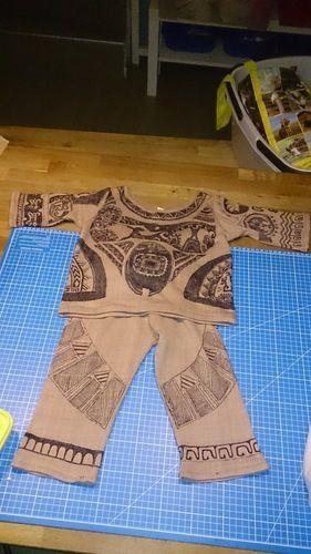Makerist - Vom Schlafanzug zum Maui-Faschingskostüm - Nähprojekte - 3
