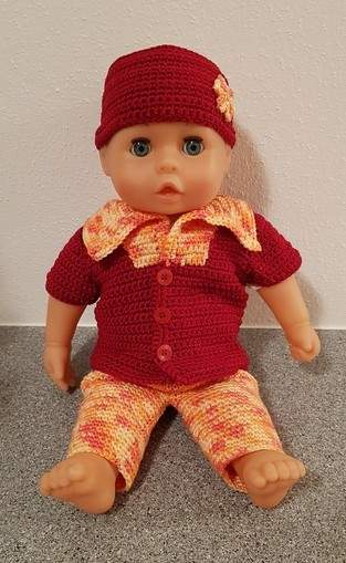 Makerist - Sommerdress für Puppe 35 - 38 cm - 1