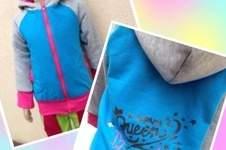 Makerist - Sweatjacke für unser Töchterchen - 1