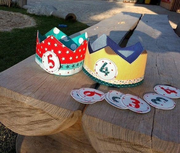 Makerist - Geburtstagskronen für die Kita - Nähprojekte - 1