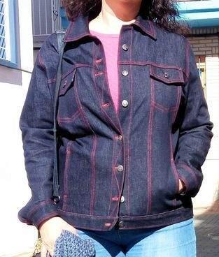 Makerist - Jeansjacke aus Mia Führers Kurs - 1