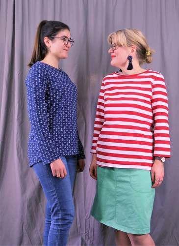 Makerist - Damenshirt Sedona - Nähprojekte - 1
