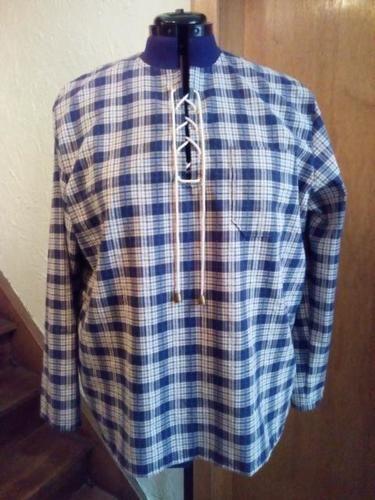 Makerist - Herren Hemd Fischerhemd aus Baumwolle - Nähprojekte - 1