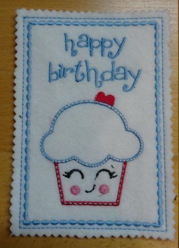 Makerist - Geburtstagskarte - Nähprojekte - 1