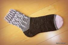 "Makerist - Socke ""Florista"" - 1"