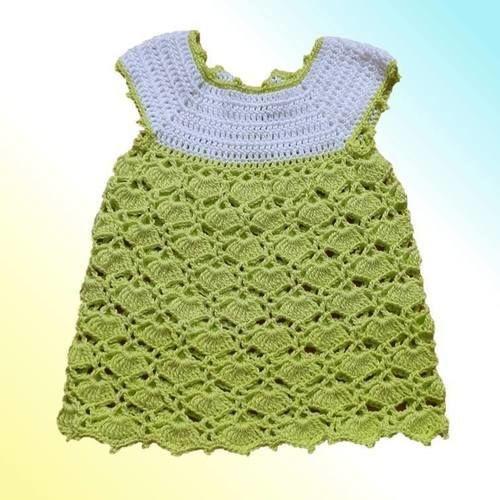 Makerist - Baby Kleid - Häkelprojekte - 1