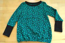 Makerist - Shirt relax.me in Jacquard grüne Sterne - 1