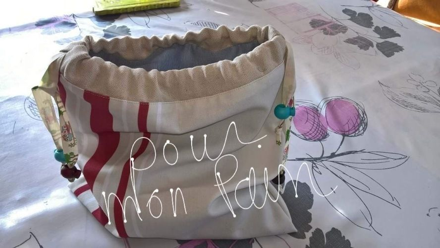 Makerist - Petit sac pour mon pain ou autre chose  - Créations de couture - 1