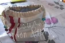 Makerist - Petit sac pour mon pain ou autre chose  - 1