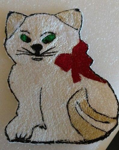 Makerist - Katze und Feder - Nähprojekte - 1