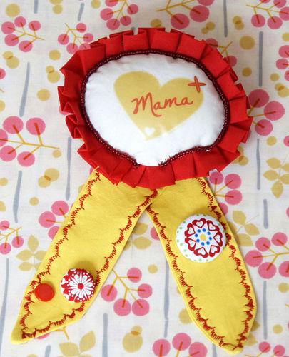 Makerist - Eine Orden zum Muttertag - Nähprojekte - 1