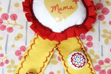 Makerist - Eine Orden zum Muttertag - 1