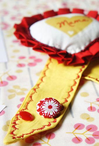 Makerist - Eine Orden zum Muttertag - Nähprojekte - 3