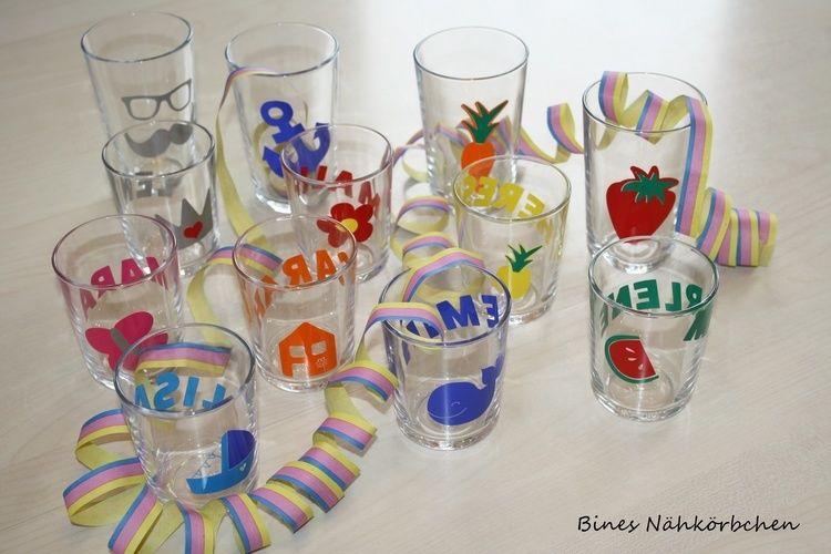 Makerist - Gläser für die Faschingsparty - DIY-Projekte - 1