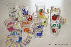 Makerist - Gläser für die Faschingsparty - 1