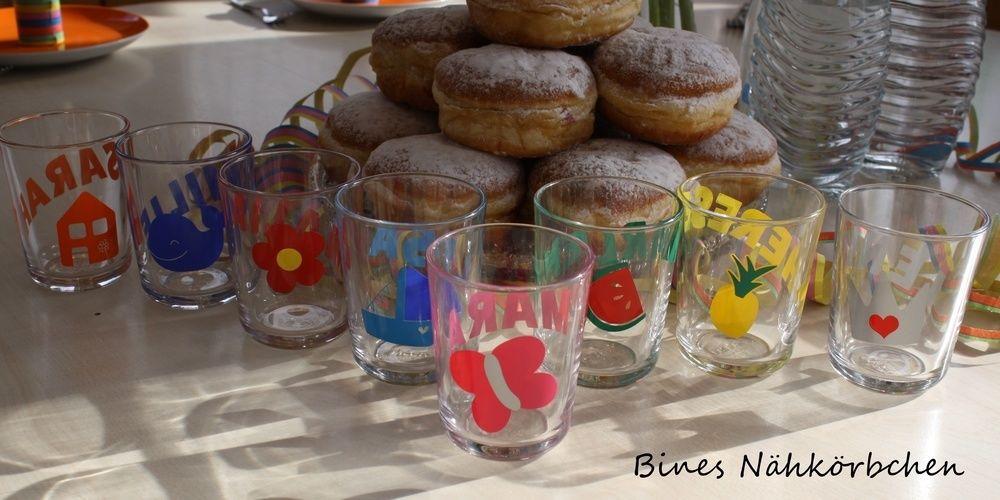 Makerist - Gläser für die Faschingsparty - DIY-Projekte - 3