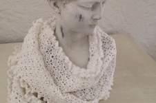 Makerist - Châle blanc comme neige  - 1
