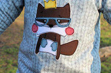 Makerist - Fred auf einem Bogi-Shirt - 1