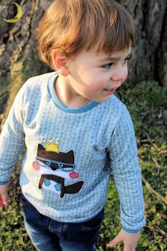 Makerist - Fred auf einem Bogi-Shirt - Nähprojekte - 3