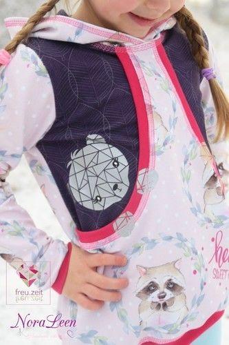 Makerist - Taschenhoodie Aurelie&Aurelio von My little Ladybird - Nähprojekte - 2