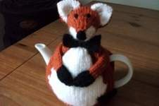 Makerist - Hand Knitted Fox Tea Cosy - 1