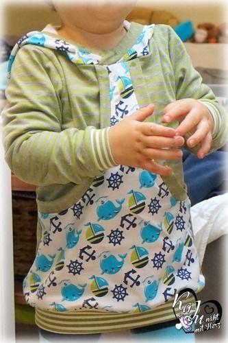 Makerist - Taschenhoodie Aurelio für meinen Sohn - Nähprojekte - 1