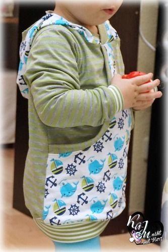 Makerist - Taschenhoodie Aurelio für meinen Sohn - Nähprojekte - 2