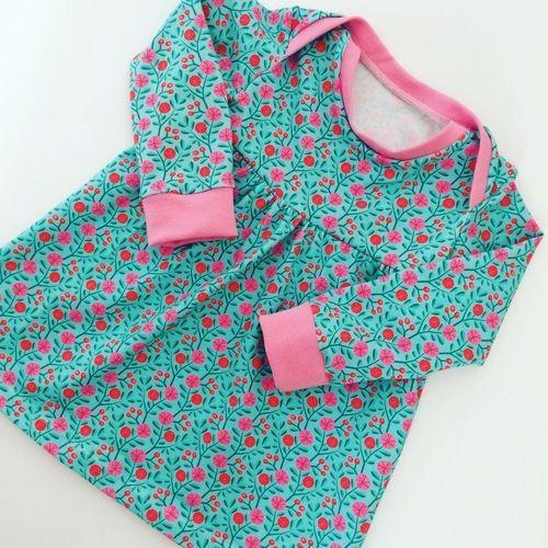 Makerist - Fröhliches Baby Basic Dress für Prinzessinen  - Nähprojekte - 1