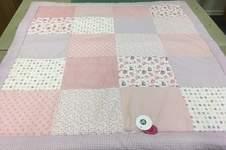 Makerist - Babydecke rosa Elefant - 1