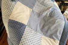 Makerist - Babydecke jeans Herzen - 1