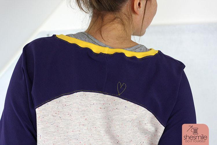 Makerist - Ein Raglan-Pullover 'Bethioua' mit Letterello-Anker und Makerist-Traumstöffchen - Nähprojekte - 3