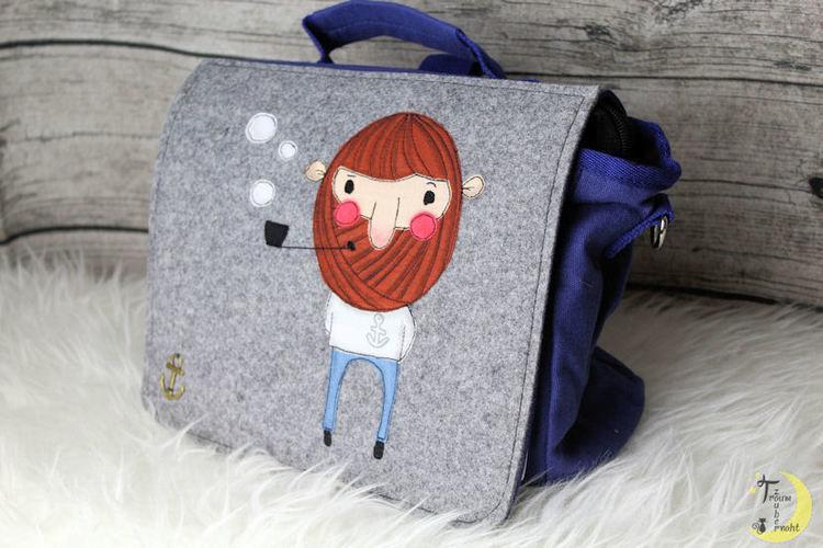 "Makerist - Kiga-Tasche ""Seebär"" - Textilgestaltung - 1"
