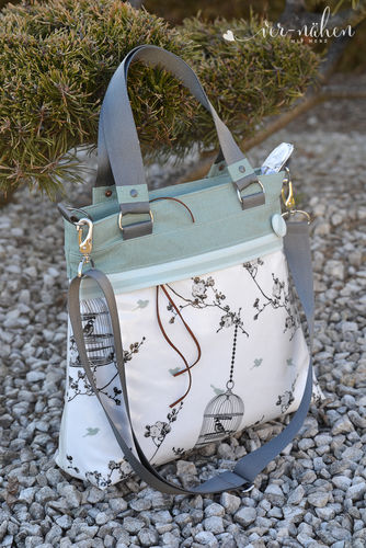 Makerist - Tasche Frühlingsliebe von Unikati  - Nähprojekte - 3
